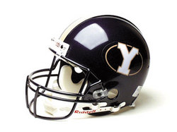 "BYU Cougars Full Size Authentic ""ProLine"" NCAA Helmet by Riddell"