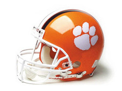 "Clemson Tigers Full Size Authentic ""ProLine"" NCAA Helmet by Riddell"