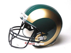 "Colorado State Rams Full Size Authentic ""Proline"" NCAA Helmet by Riddell"