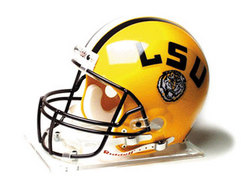 "LSU Fightin Tigers Full Size Authentic ""ProLine"" NCAA Helmet by Riddell"