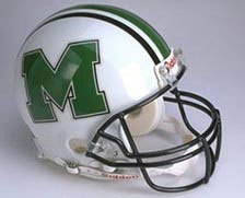 "Marshall Thundering Herd Full Size Authentic ""ProLine"" NCAA Helmet by Riddell"