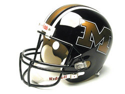 "Missouri Tigers Full Size ""Deluxe"" Replica NCAA Helmet by Riddell"
