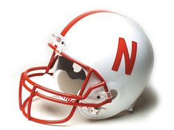 "Nebraska Cornhuskers Full Size Authentic ""ProLine"" NCAA Helmet by Riddell"