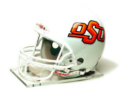 "Oklahoma State Cowboys Full Size Authentic ""ProLine"" NCAA Helmet by Riddell"