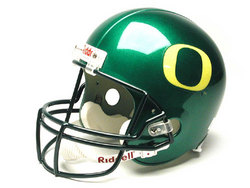"Oregon Ducks Full Size ""Deluxe"" Replica NCAA Helmet by Riddell"