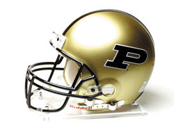 "Purdue Boilermakers Full Size Authentic ""ProLine"" NCAA Helmet by Riddell"