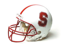"Stanford Cardinal Full Size Authentic ""ProLine"" NCAA Helmet by Riddell"