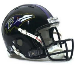 Baltimore Ravens Full Revolution Authentic Helmet