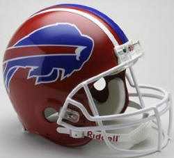 Buffalo Bills 1987 to 2001 Riddell Full Authentic Throwback Helmet