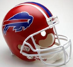 Buffalo Bills 1987 to 2001 Riddell Full Replica Throwback Helmet