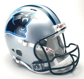 Carolina Panthers Authentic Revolution NFL Football Helmet Riddell