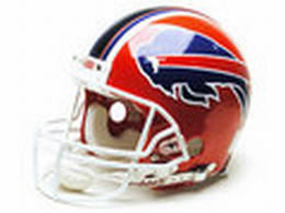 "Buffalo Bills Full Size ""Deluxe"" Replica NFL Helmet"