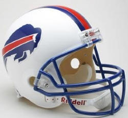 Buffalo Bills 1976 to 1983 Riddell Full Replica Throwback Helmet