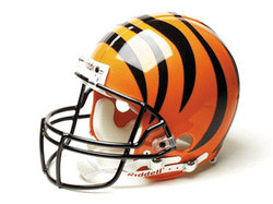 "Cincinnati Bengals Full Size Authentic ""ProLine"" NFL Helmet by Riddell"
