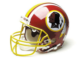 "Washington Redskins Full Size ""Deluxe"" Replica NFL Helmet by Riddell"