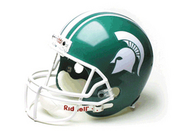 Michigan State Spartans Deluxe Football Helmet