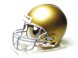 "Notre Dame Fighting Irish Full Size Authentic ""ProLine"" NCAA Helmet"