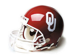 "Oklahoma Sooners Full Size Authentic ""ProLine"" NCAA Helmet"
