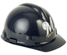 5e08acf4761 Milwaukee Brewers Hard Hat